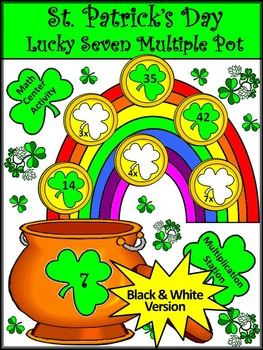 St. Patrick's Day Game Activities: Lucky 7 Pot of Gold Math Activity