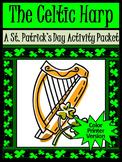 St. Patrick's Day Reading Activities: The Celtic Harp Activity Packet