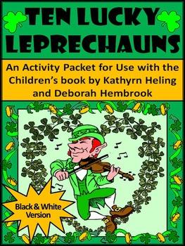St. Patrick's Day Language Arts Activities: Ten Lucky Leprechauns Activities