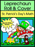 St. Patrick's Day Game Activities: Leprechaun Roll & Cover Math Activity