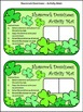St. Patrick's Day Math Activities: Shamrock Dominoes St. Patrick's Day Game