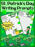 St. Patrick's Day Language Arts Activities: St. Patrick's Day Writing Prompts