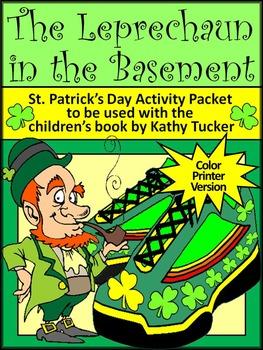 St. Patrick's Day Reading Activities: The Leprechaun in the Basement Activities