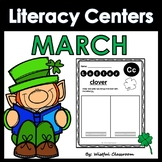 March Literacy Centers- No Prep