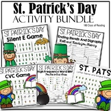 St. Patrick's Day Phonics Games and Activities