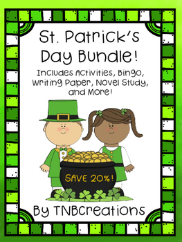 St. Patrick's Day Activities Bundle