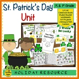 St. Patrick's Day Unit:  Activities & Center