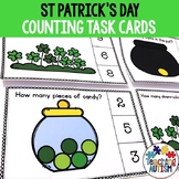 St Patrick's Day Activities, Counting Task Cards