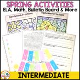 Spring Activities- ELA, Math, & Poetry Bulletin Board