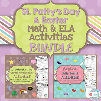 St. Patrick's Day Activities Easter Bundle