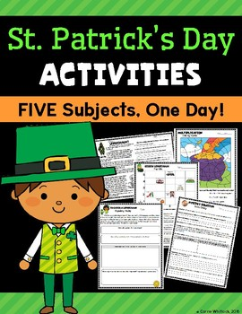 St. Patrick's Day Activities - Five Subjects, One Day!