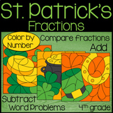 St. Patrick's Day Adding and Subtracting Fractions
