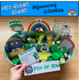 "St. Patrick's Day Activities: ""Hey Riddle Riddle"" Sensory Bin Riddles"