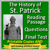 St. Patrick's Day Activities: Legend of Saint Patrick Activity Packet