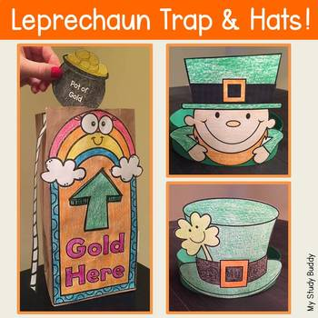 St. Patrick's Day Activities: Leprechaun Trap & Hats (St. Patrick's Day Crafts)