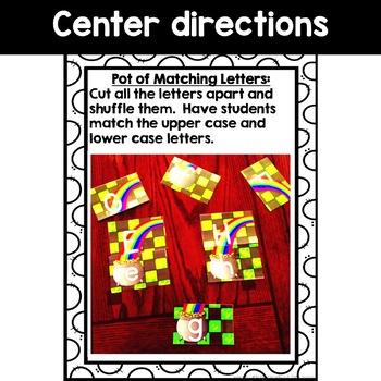 Kindergarten Matching Letter