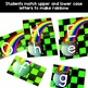 St. Patrick's Day Activities - Matching Letter Rainbows