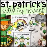 St. Patrick's Day Activities- (No Prep!)