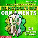 St. Patrick's Day Writing Project and Art Activity (3D Bulletin Board Display)