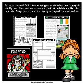 St. Patrick's Day Activities | St. Patrick's Day Flip Book