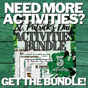 St. Patrick's Day Activity: Crossword Puzzle