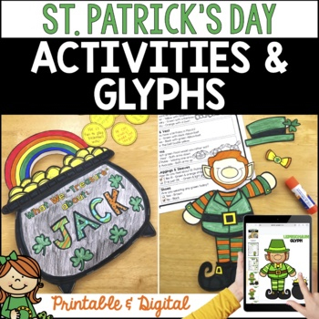 St. Patrick's Day Activities and Glyphs: St. Patrick's Day Crafts & more!
