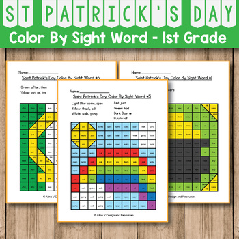 St Patrick's Day Activities for 1st grade - St Patrick's Day Coloring Pages