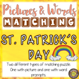 St. Patrick's Day ESL Activities Picture and Definition Ma