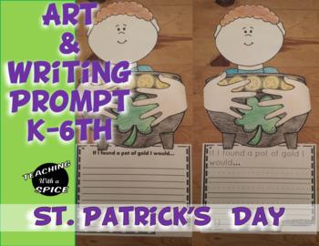 St Patrick's Day Activity Leprechaun gold