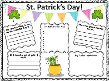 St Patrick's Day Activity