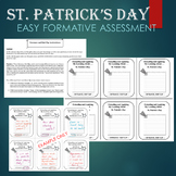 St. Patrick's Day Activity - ENTRANCE AND EXIT SLIP