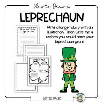St. Patrick's Day Activity - Leprechaun Drawing & How to Catch a Leprechaun