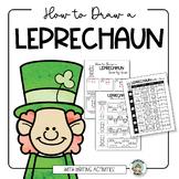 St. Patrick's Day Activity - Leprechaun Drawing - Distance