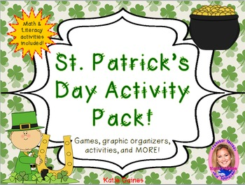 St. Patrick's Day Activity Pack!