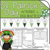 St. Patrick's Day Activities + Practice Pages