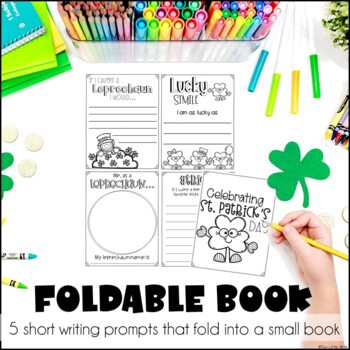 St. Patrick's Day Activity: St. Pat's Day Writing Activity, Foldable Book