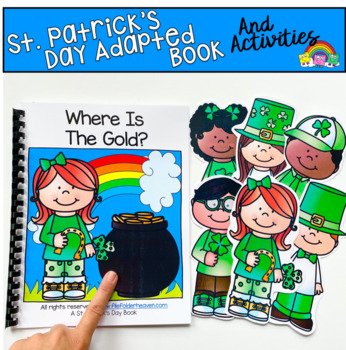 """St. Patrick's Day Adapted Book:  """"Where Is The Gold?"""""""