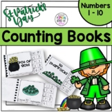 St Patrick's Day Counting Adapted Books for Special Education