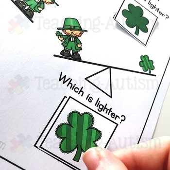 St Patrick's Day Adapted Book