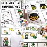 St Patrick's Day Adapted Book for Special Education
