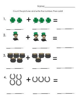 St. Patrick's Day Adding!