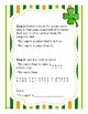 St. Patrick's Day Adding and Subtracting Fraction Challenge: Leprechaun Lineup