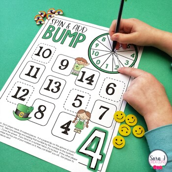 St. Patrick's Day Addition Games