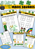St. Patrick's Day Addition Magic Squares