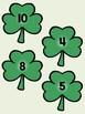St. Patrick's Day Addition Match File Folder Game