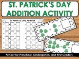 St. Patrick's Day Addition Math Center