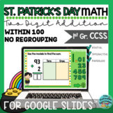 St. Patrick's Day Addition Within 100 No Regrouping Google Slides™