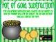 St. Patrick's Day Addition and Subtraction Freebie