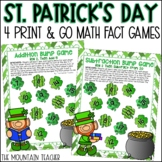 St Patricks Day Math Activities   Addition and Subtraction