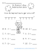 St. Patrick's Day Addition and Subtraction Jokes